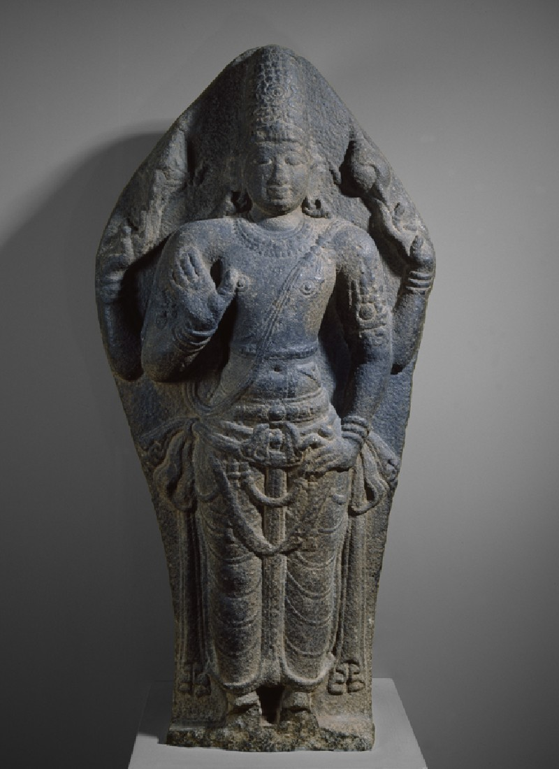 Standing figure of Vishnu (front           )