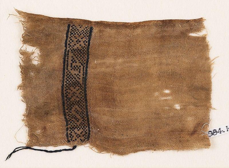 Textile fragment with lozenges, stars, and an S-shape (EA1984.149, front            )