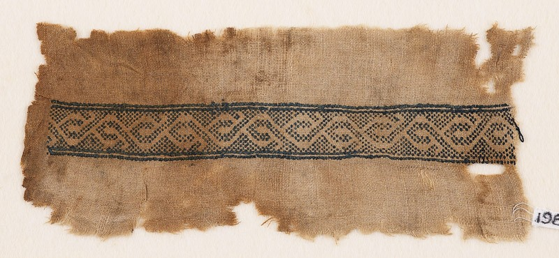 Textile fragment with stylized vine (EA1984.162, front            )