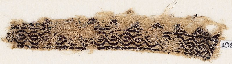Textile fragment with interlacing chain (EA1984.181, front            )