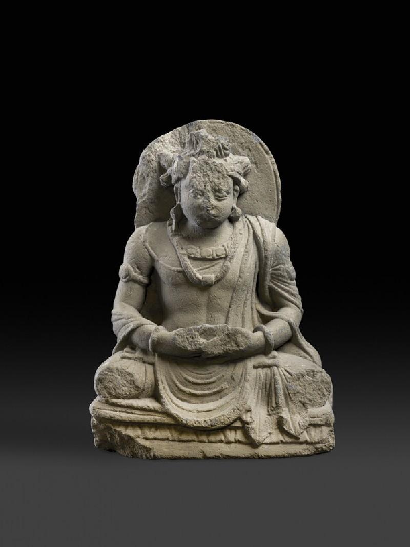 Seated Bodhisattva Siddhartha