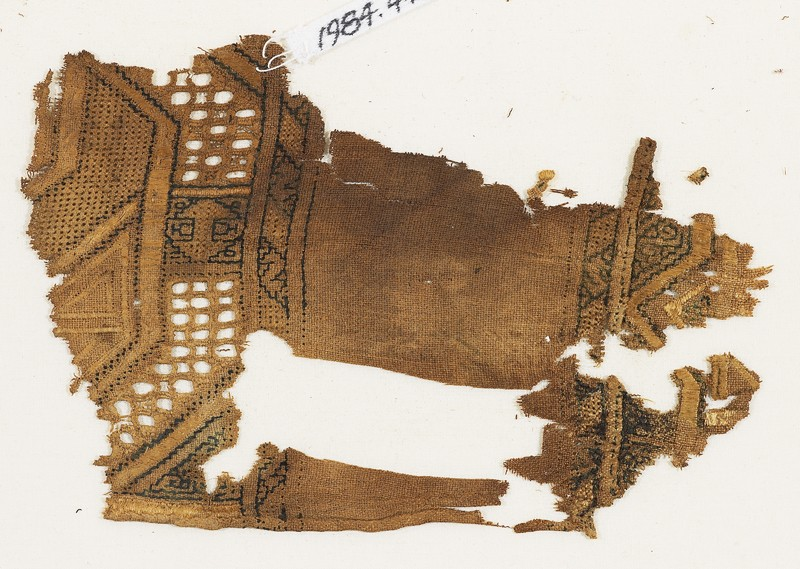 Textile fragment, possibly from a sash or shawl (EA1984.445.c, front              )