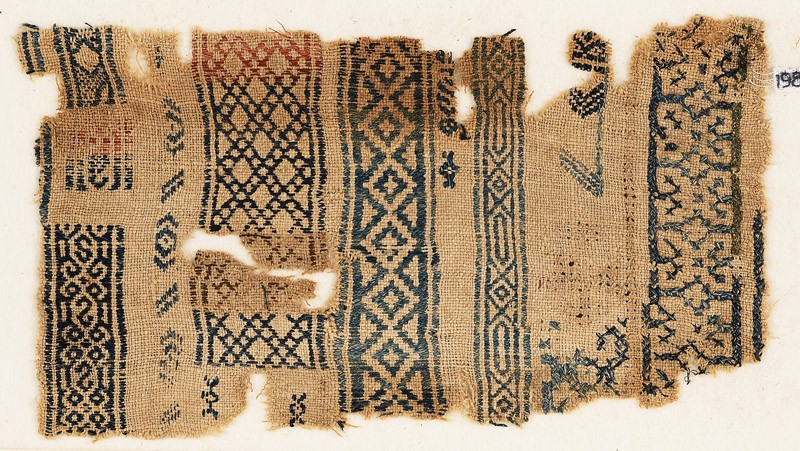 Sampler fragment with five bands