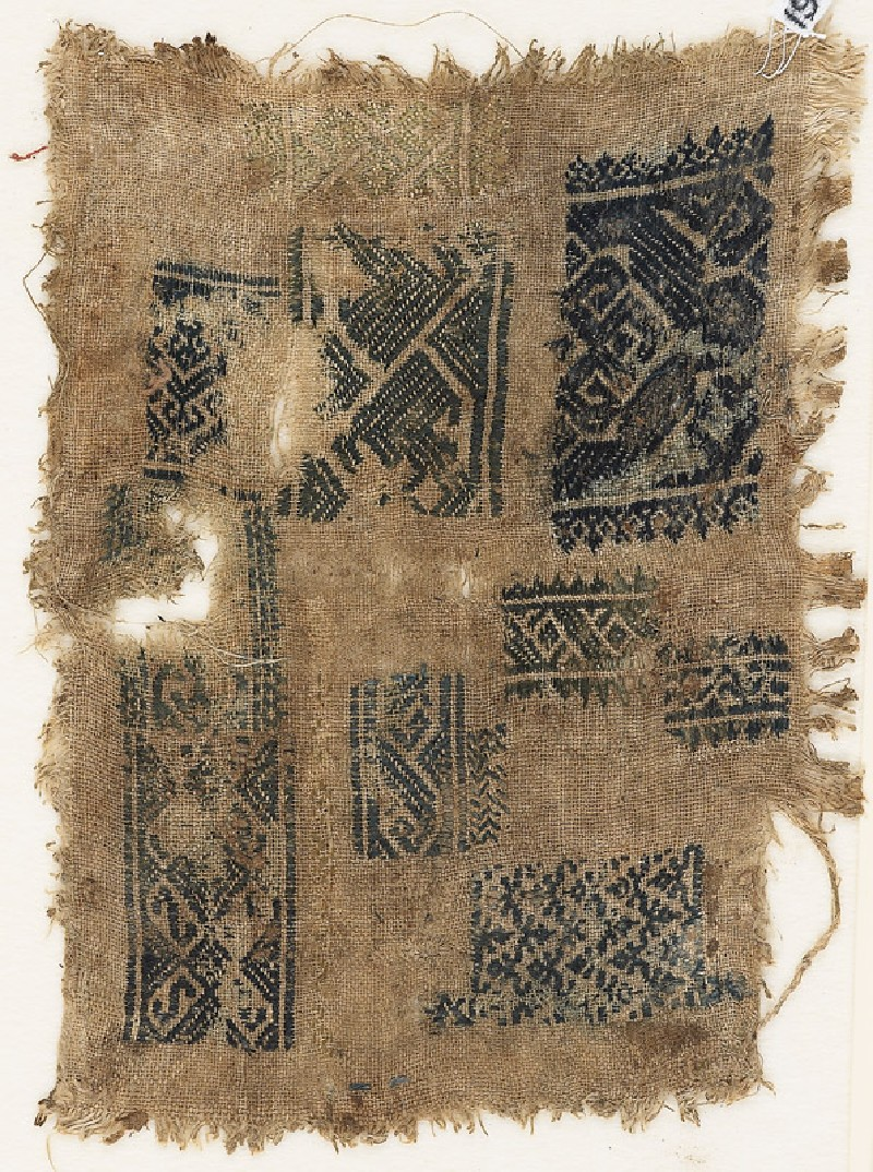 Sampler fragment with ten short bands