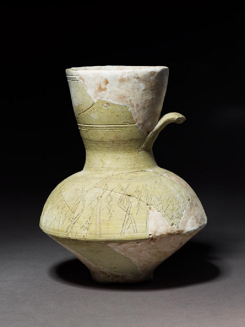 Jug with incised decoration (EA1984.638, side            )