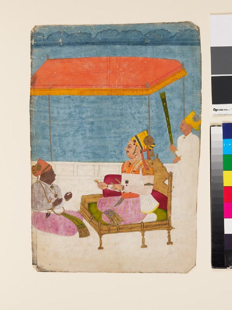Maharaja Abhai Singh of Jodhpur (EA1985.12, front           )
