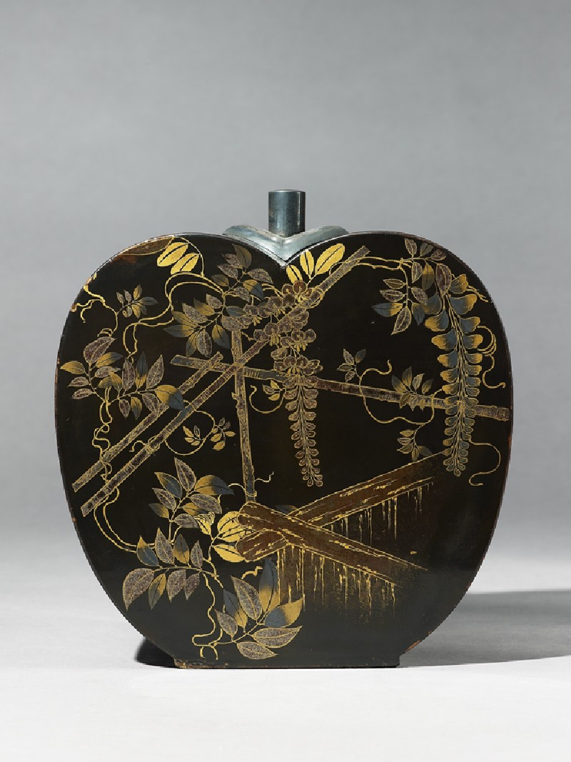Flask with wisteria (EA1987.35, side           )