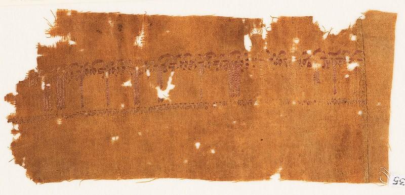 Textile fragment with tiraz band (EA1988.35, front           )