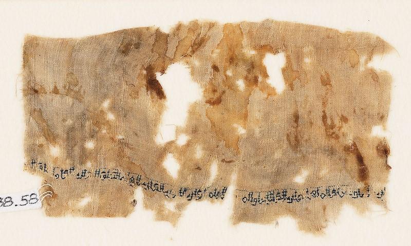 Textile fragment with tiraz band (EA1988.58, front           )