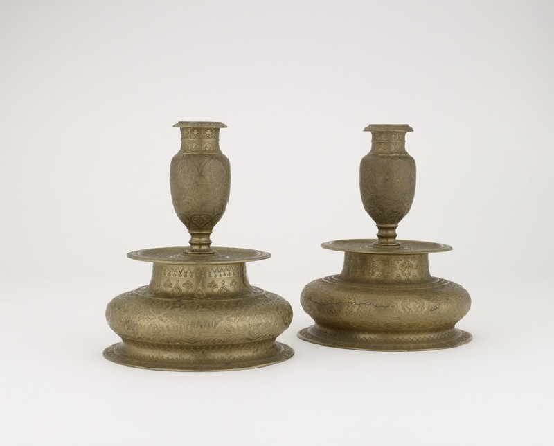 Candlestick with floral decoration (EA1989.204)