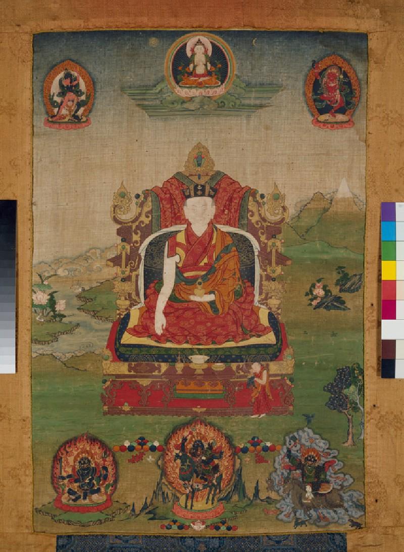 The 13th Karmapa Lama (EA1991.183, front            )