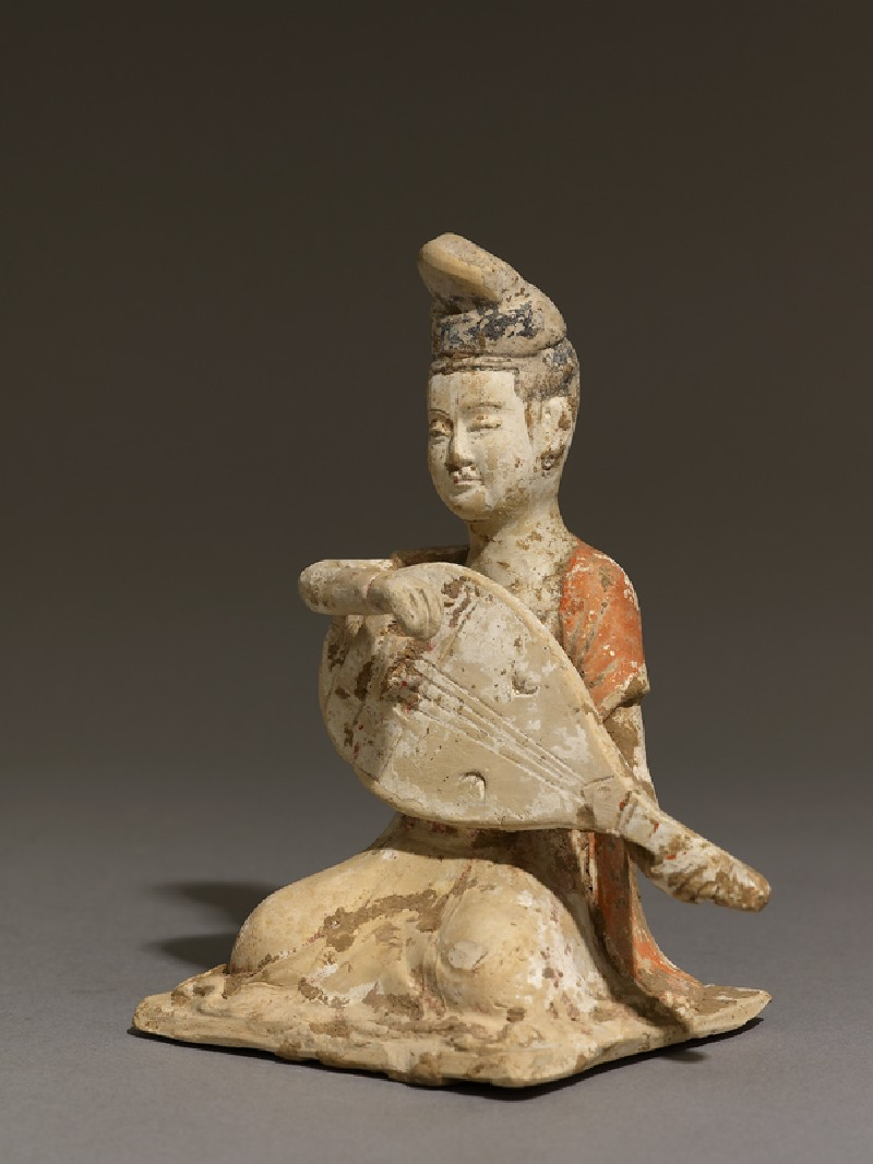 Figure of a mandolin player