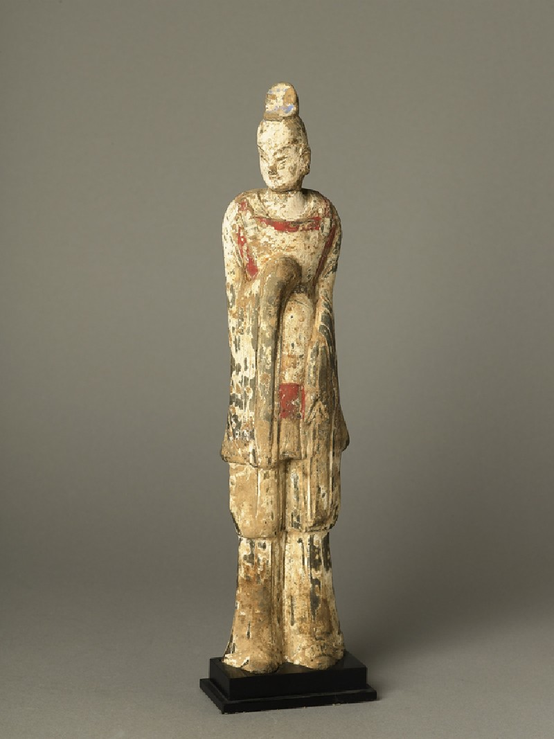 Standing guardian figure (EA1991.64, oblique           )