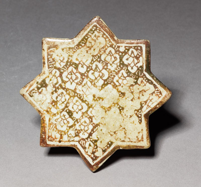 Star tile (EA1992.4, top          )