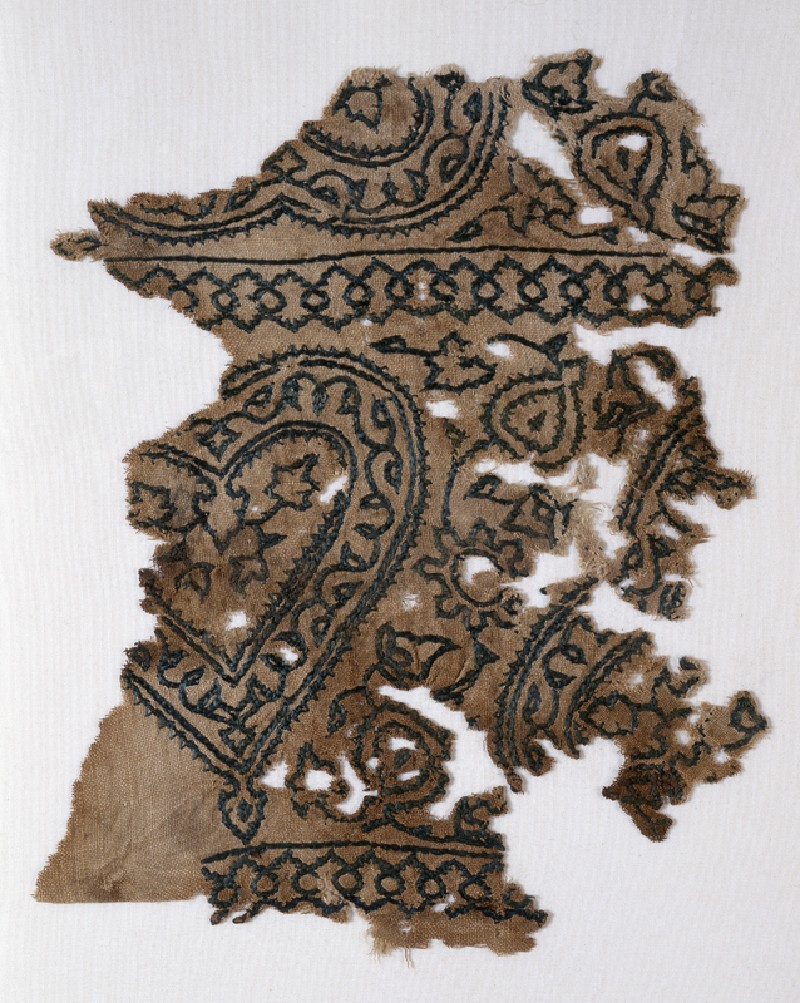 Textile fragment with hearts (EA1993.230, front            )