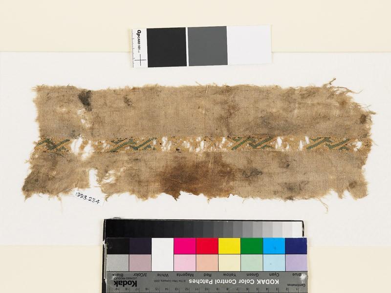 Textile fragment with diagonal interlace (EA1993.234, front            )