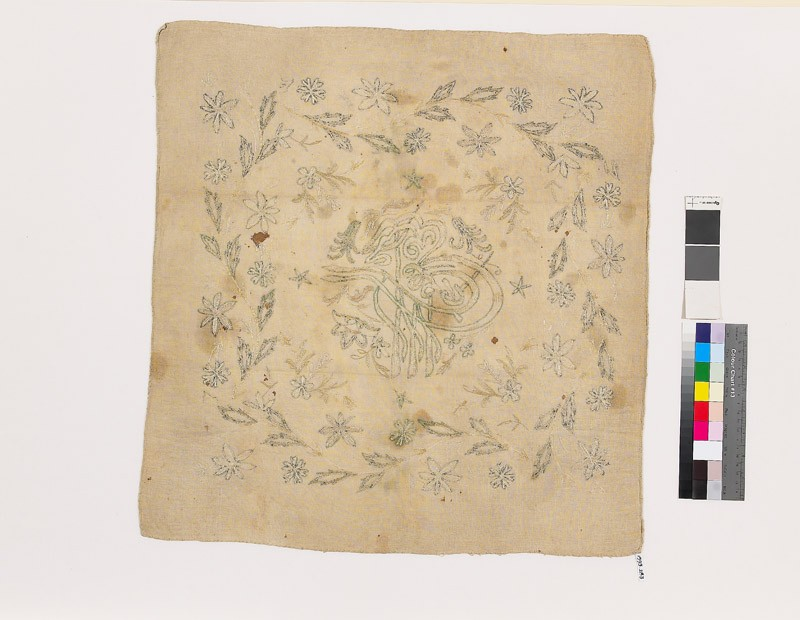 Tughraa of an Ottoman Sultan with flower sprays (EA1993.283, front            )