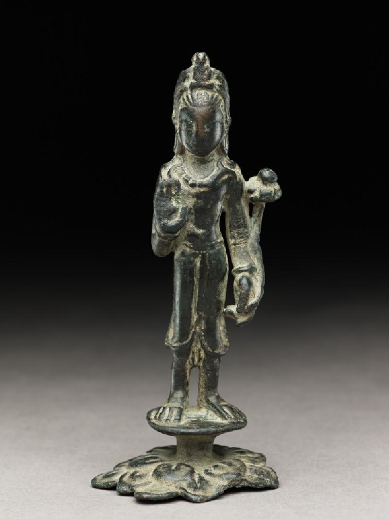 Standing figure of Padmapani (EA1993.371, front            )