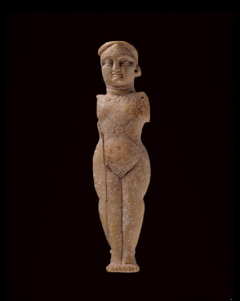 Female figure wearing jewellery (EA1993.386)