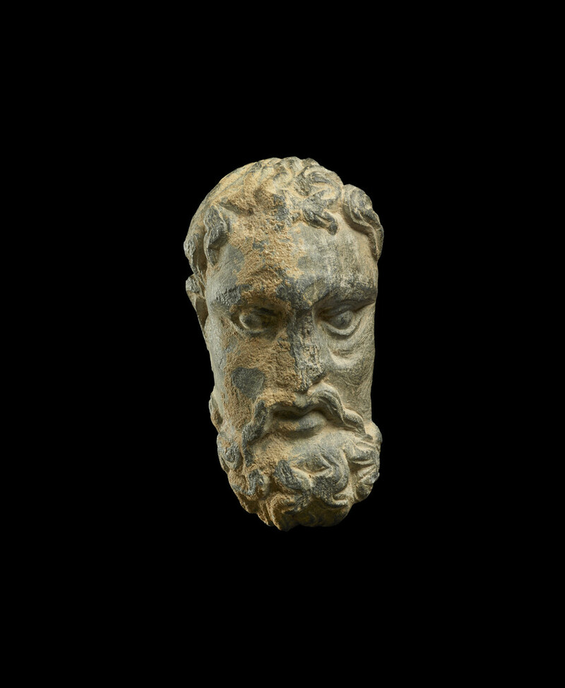 Head of an ascetic (EA1994.108)
