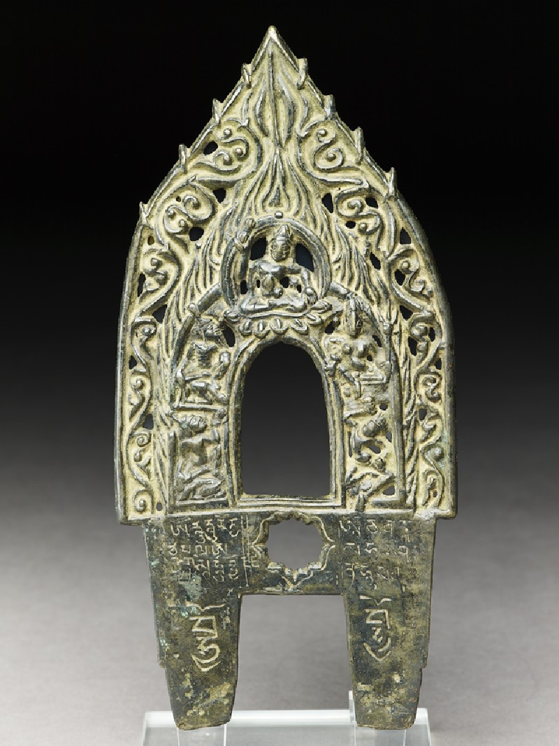 Prabha, or backplate to a Buddhist image