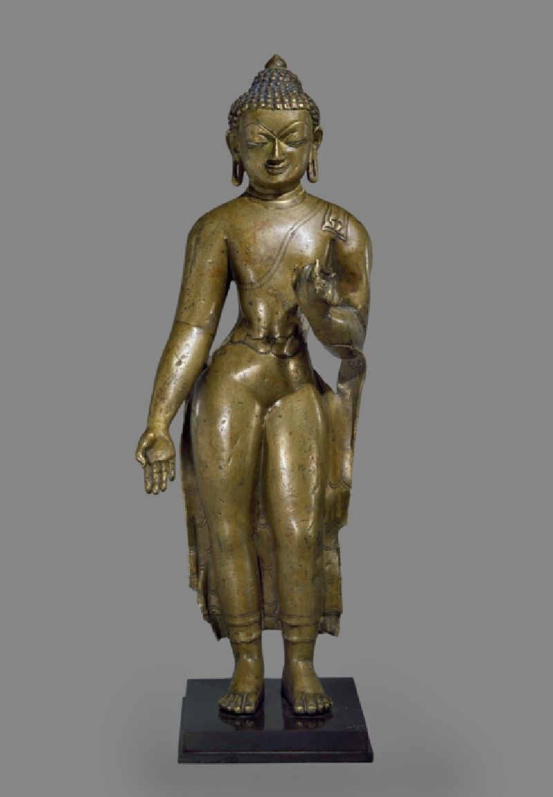 Standing figure of the Buddha (EA1994.134, front            )
