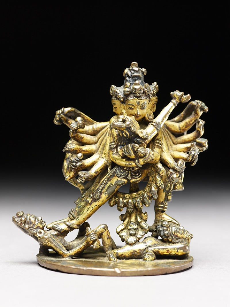 Figure of Samvara and his consort Vajravarahi