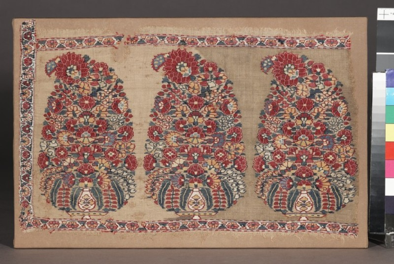 Shawl border fragment with buta (EA1994.52)