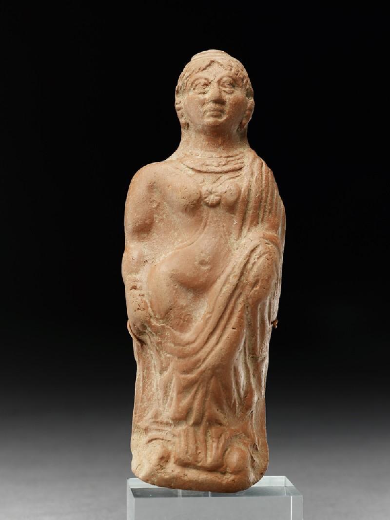 Plaque with semi-draped female figure (EA1994.74, front           )