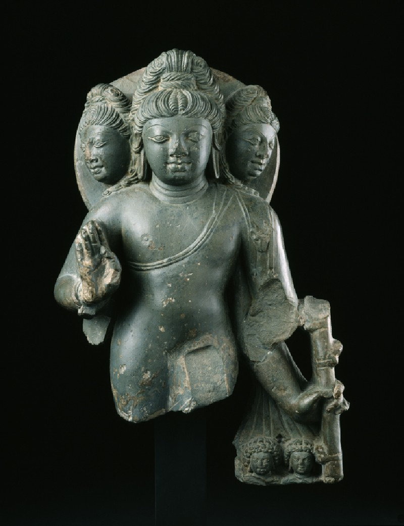 Figure of Brahma, god of creation (front            )