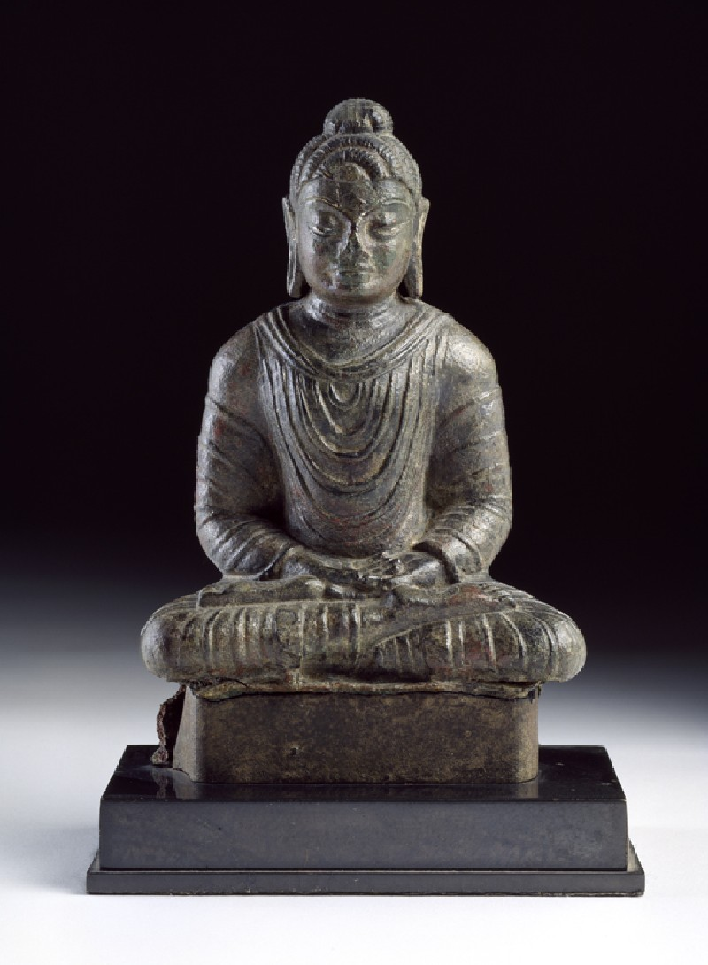 Seated figure of the Buddha (EA1995.115, front            )