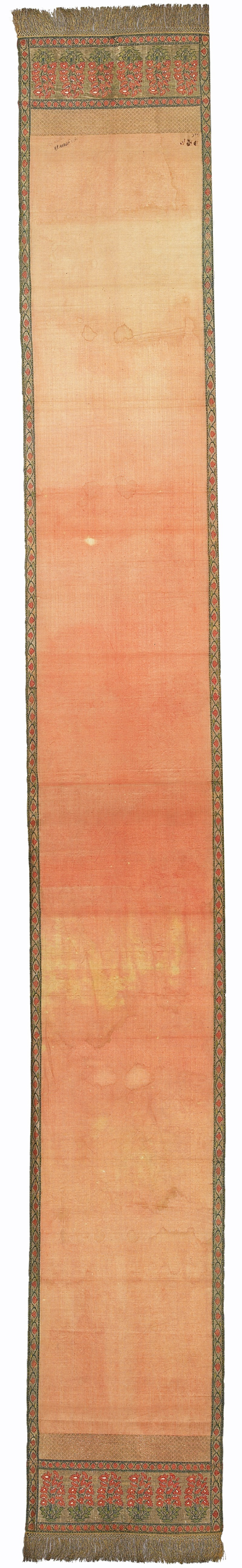 Border of a nobleman's sash