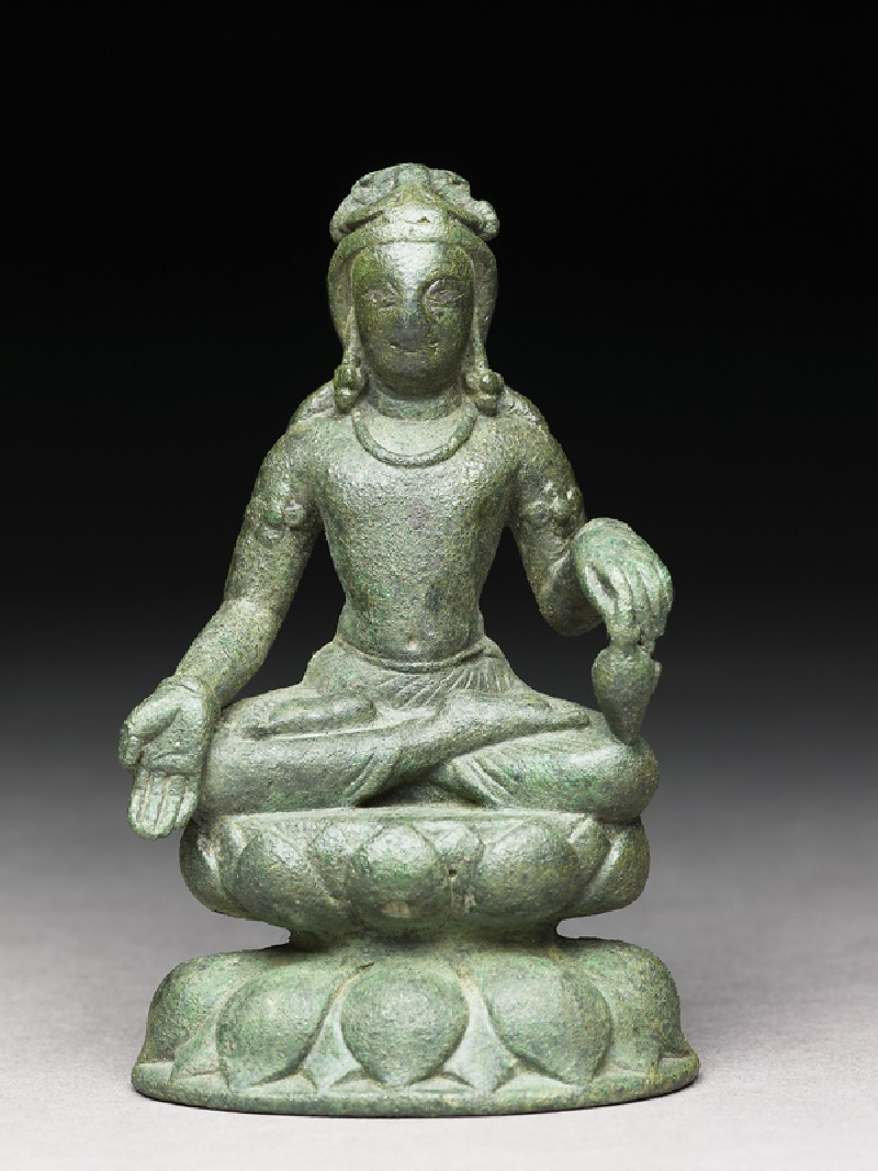 Figure of Maitreya, the future Buddha (EA1995.165, front            )