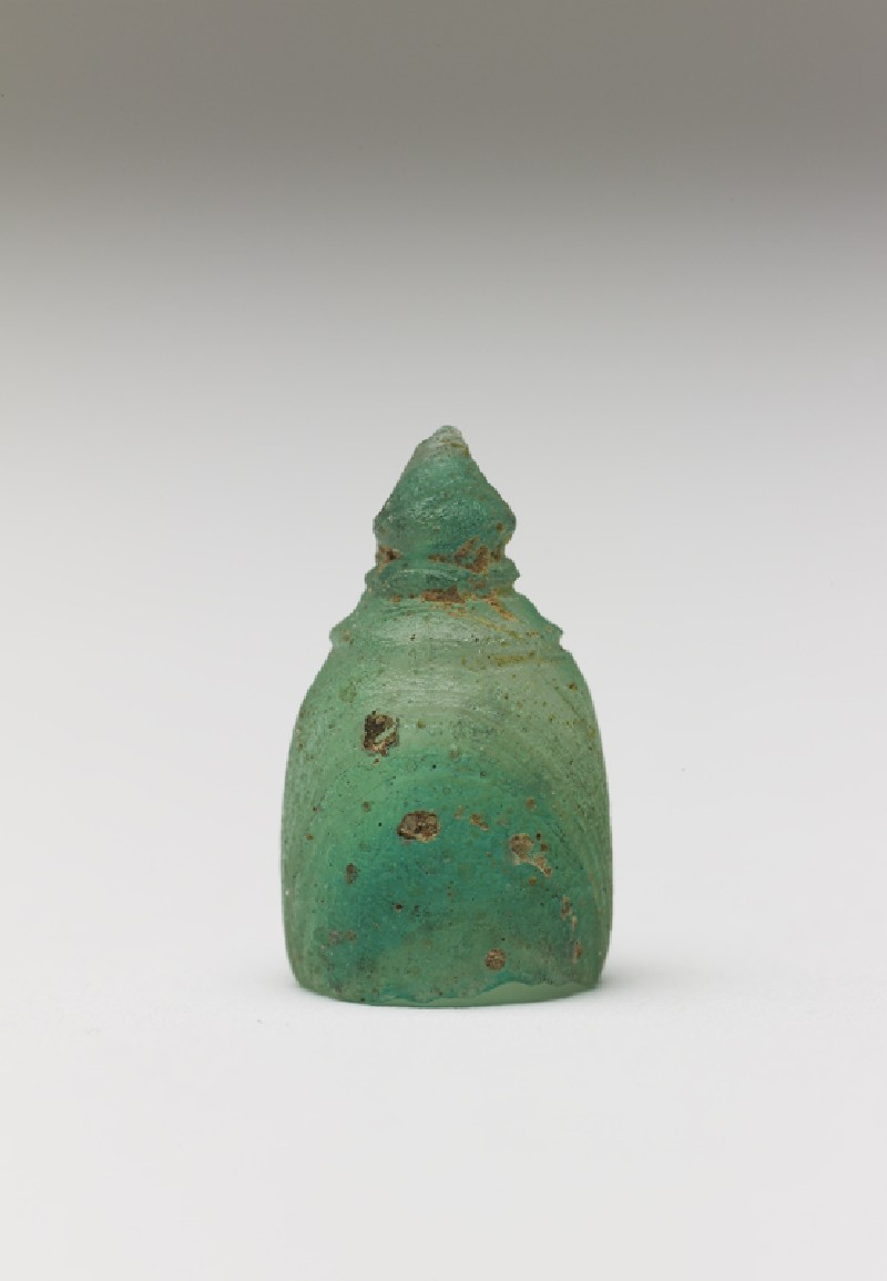 Glass miniature stupa