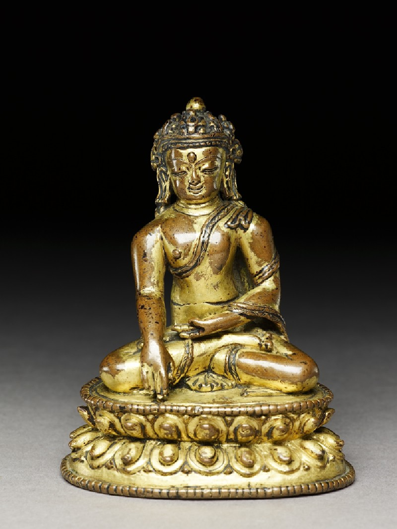 Figure of the Crowned Buddha (EA1996.3, front          )