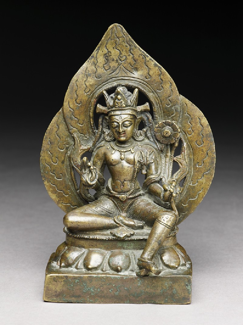 Seated figure of Padmapani (EA1996.75, front           )