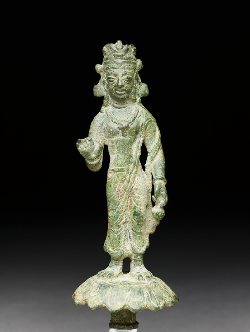 Standing figure of Maitreya, the future Buddha (EA1996.95, front           )