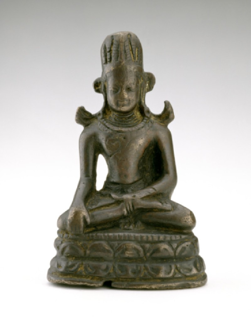 Figure of the Crowned Buddha (EA1997.12, front           )