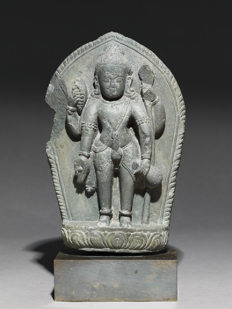 Stele with figure of Shiva