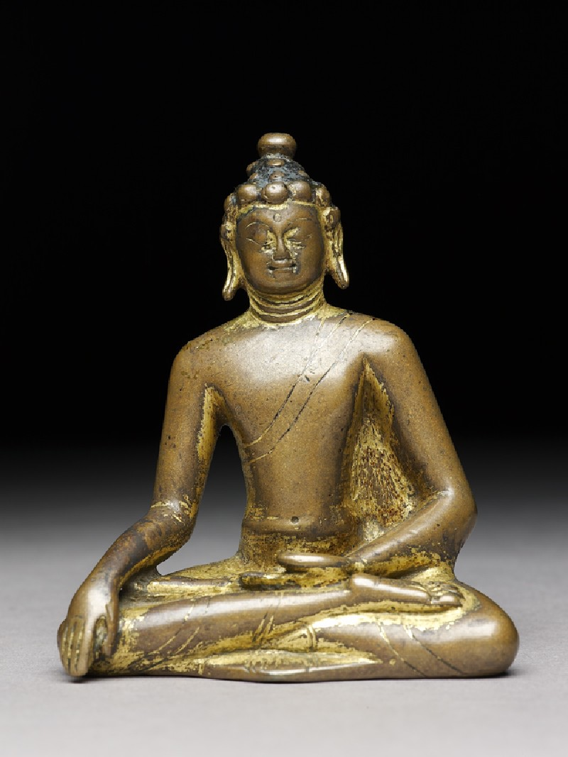 Seated figure of the Buddha (EA1997.187, front            )