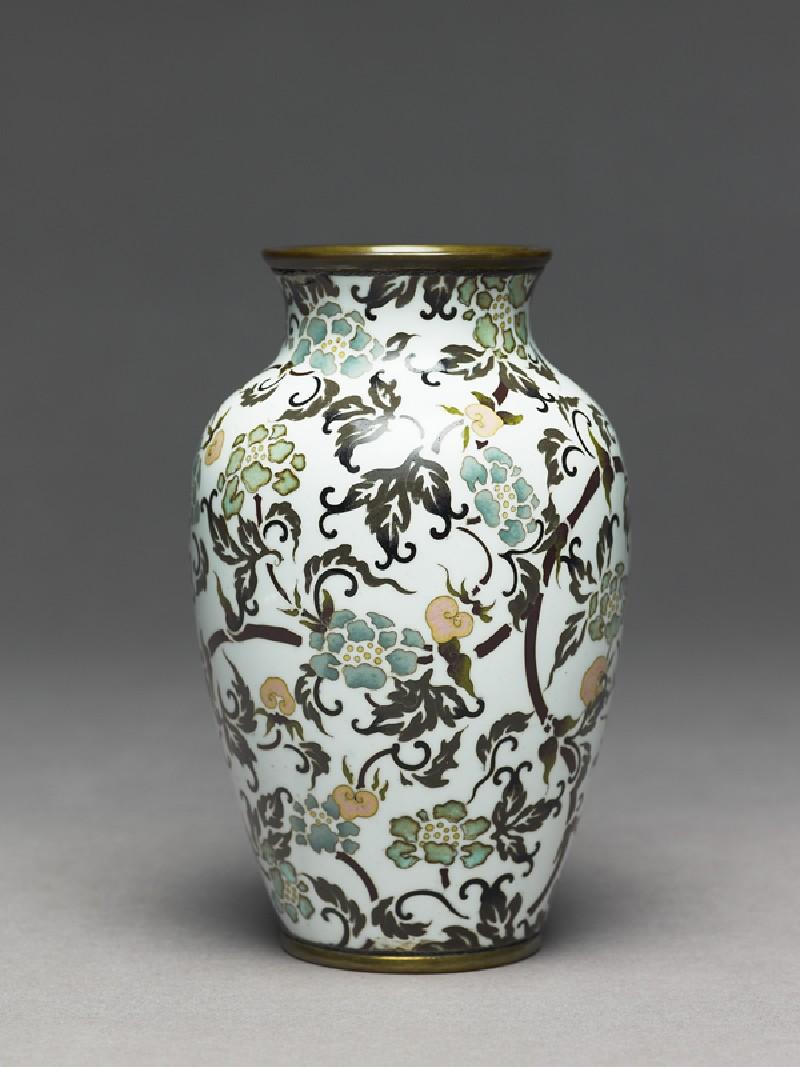 Baluster vase with stylized flowers (EA1997.209, side            )