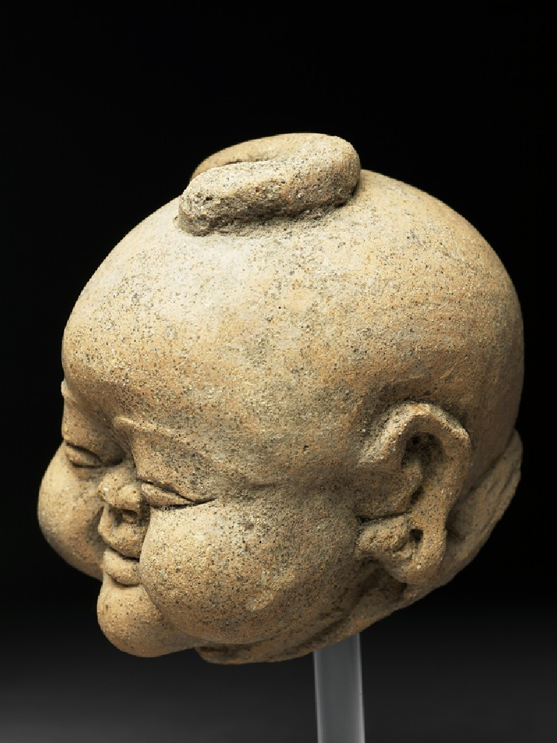 Head of a Chinaman (EA1997.228, side            )