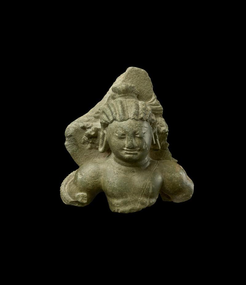 Bust of a deity, probably Skanda (EA1997.247)