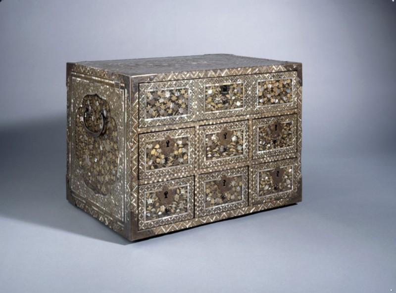 Namban cabinet (EA1998.17, oblique           )