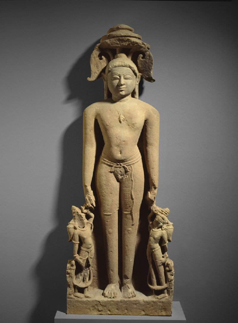 Standing figure of a Jina (EA1998.225, front            )