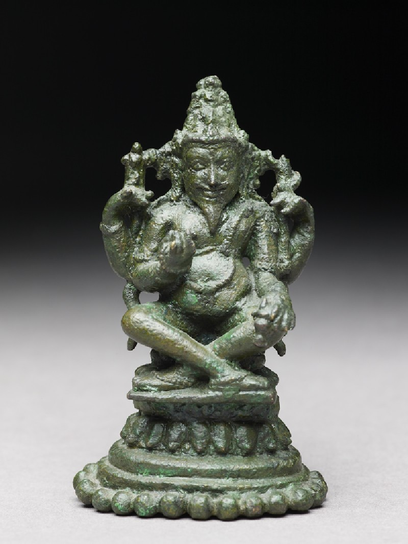Figure of Agni, god of fire (EA1998.30, front           )