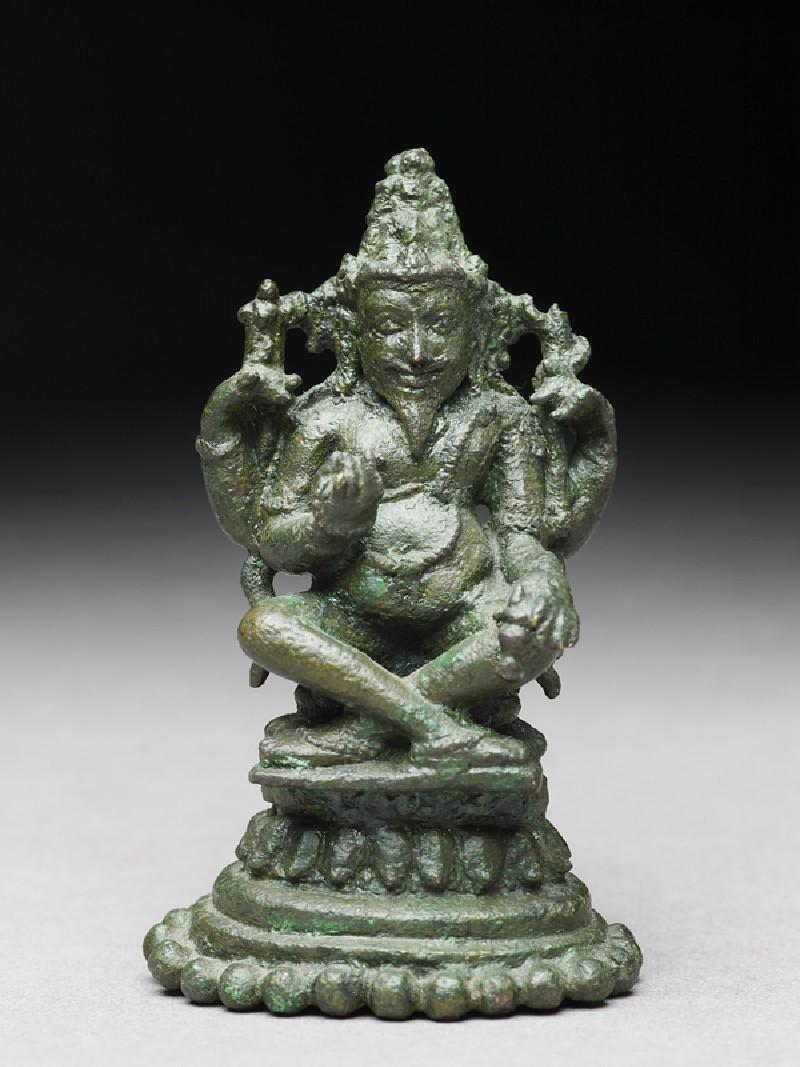 Figure of Agni, god of fire