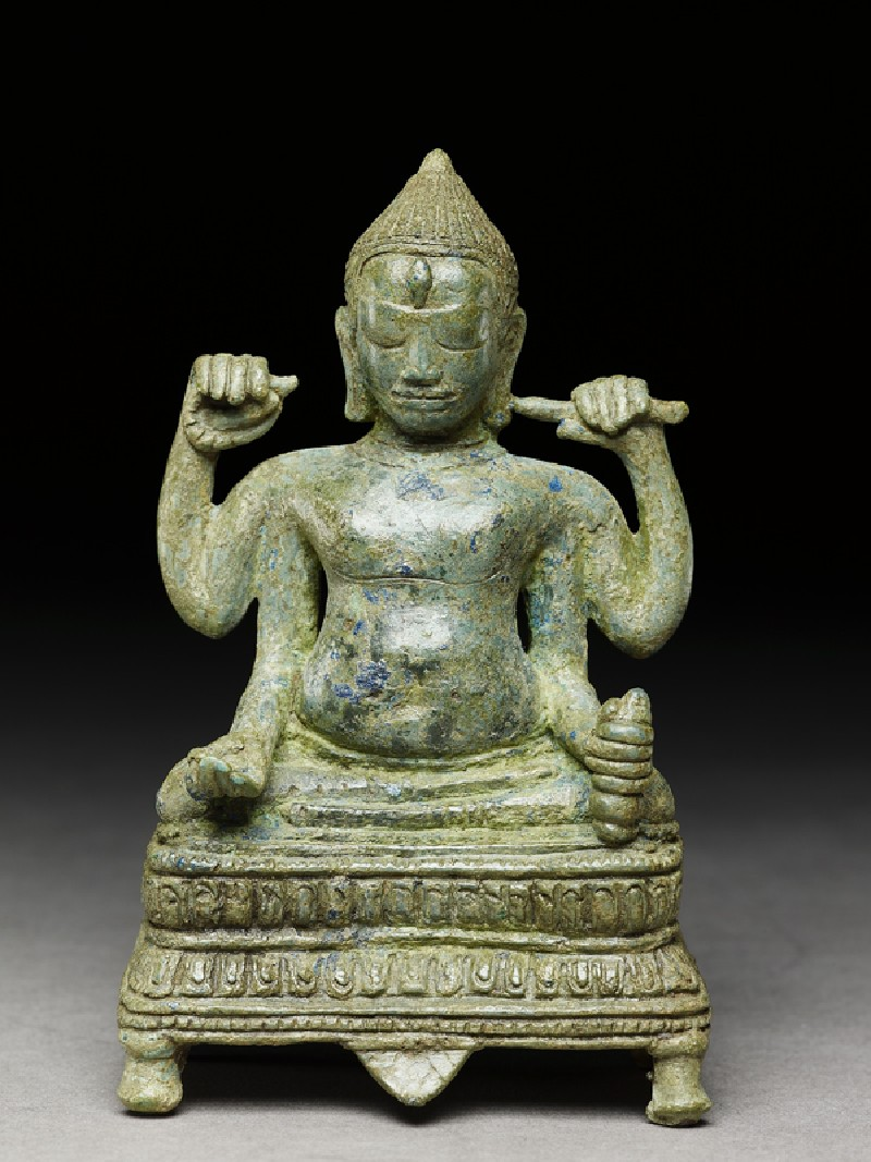 Figure of four-armed Shiva (front          )