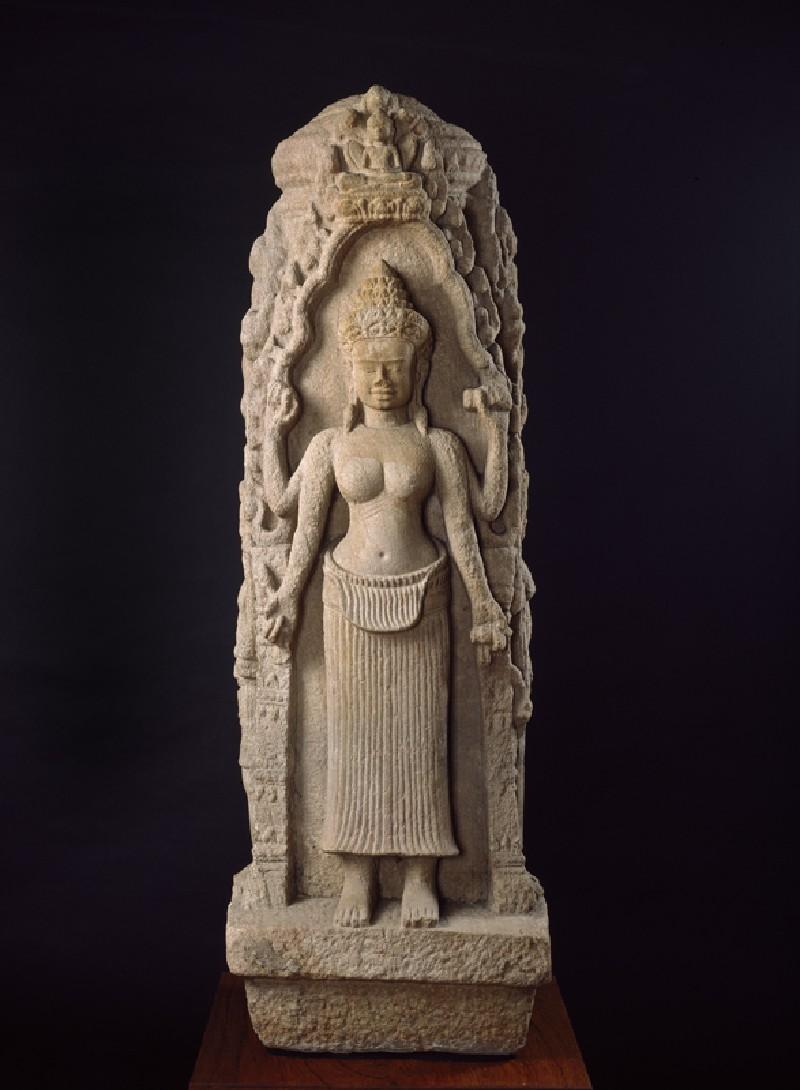 Buddhist chaitya (side            )