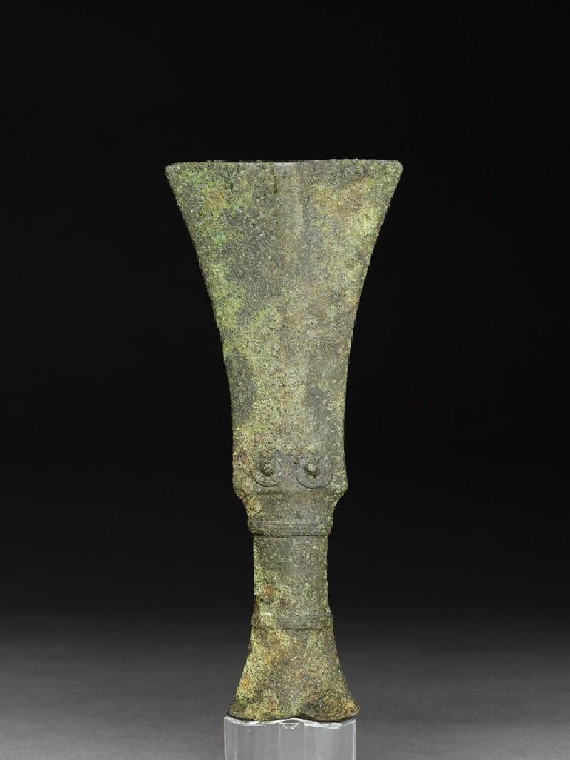Bronze hilt (EA1999.23, front           )
